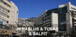In Nablus & Tubas & Salfit
